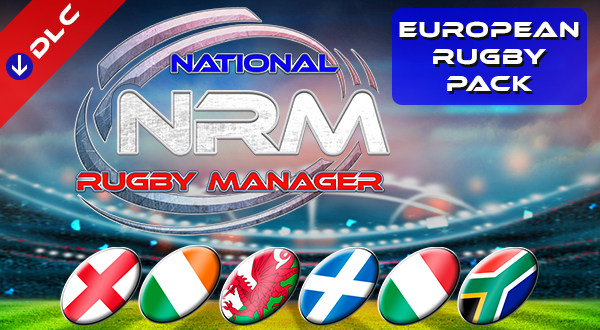 National Rugby Manager European Rugby Pack DLC